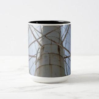 Rusty Steel Beauty Two-Tone Coffee Mug