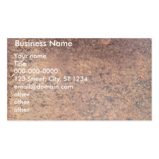 Rusty Steel Business Cards