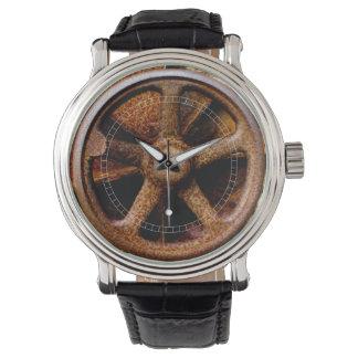 Rusty Submarine Hatch Wheel Watch