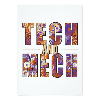 Rusty Tech and Mech Card