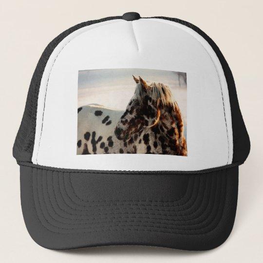 Rusty the Appaloosa Trucker Hat