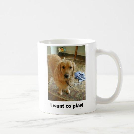 Rusty the Golden Retriever Coffee Mug