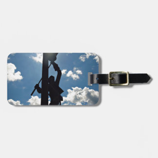 Rusty the Lineman Tag For Luggage