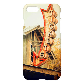 Rusty Ticket Booth iPhone 7 Case