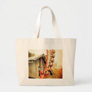 Rusty Tickets Large Tote Bag