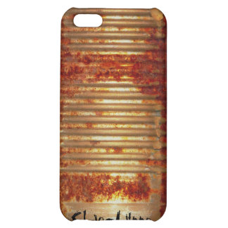 Rusty Tin Can Case For iPhone 5C