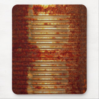 Rusty Tin Can Mouse Pad