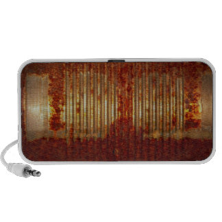 Rusty Tin Can Mp3 Speakers
