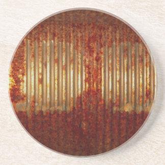 Rusty Tin Can Sandstone Coaster