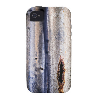 Rusty Tin Siding Graphic Vibe iPhone 4 Cover