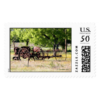 Rusty Tractor -05 Postage