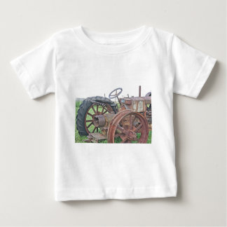 Rusty Tractor Baby T-Shirt