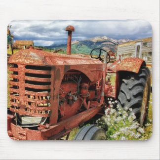 Rusty Tractor Mouse Pad