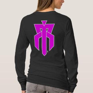 Rusty Tramp Deluxe TS T-Shirt   pink logo