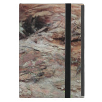rusty tree bark, fit for a cowboy, country man. iPad mini cover