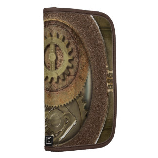 Rusty Vintage Cogs Steampunk Planner