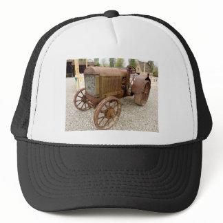 Rusty vintage tractor trucker hat