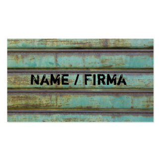Rusty - visiting cards Double-Sided standard business cards (Pack of 100)