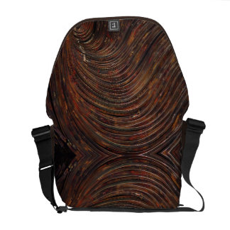 Rusty Waves Courier Bag