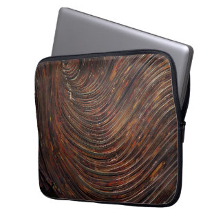 Rusty Waves Laptop Computer Sleeve
