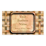 Rusty Weave Double-Sided Standard Business Cards (Pack Of 100)