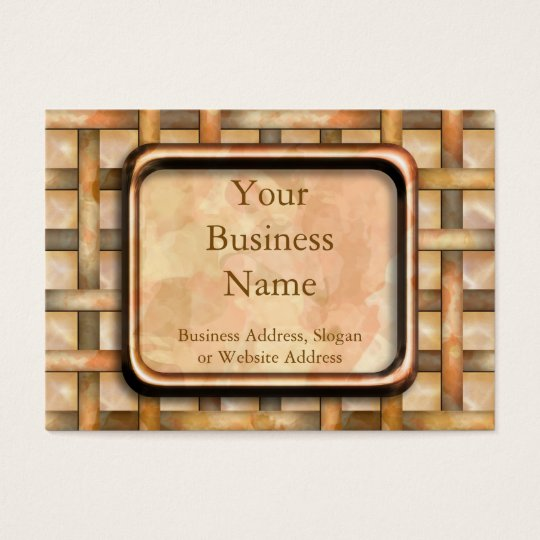 Rusty Weave Business Card