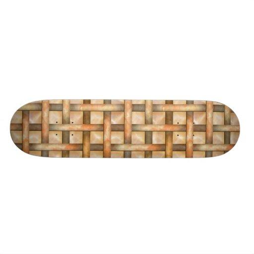 Rusty Weave Custom Skateboard