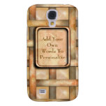 Rusty Weave Galaxy S4 Covers