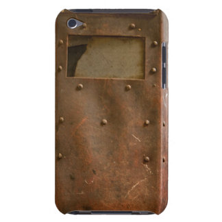 Rusty welding helmet barely there iPod case