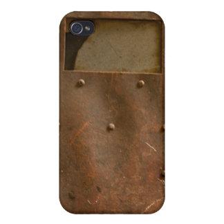 Rusty welding helmet case for iPhone 4