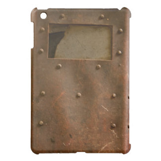 Rusty welding helmet iPad mini cover