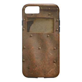 Rusty welding helmet iPhone 7 case