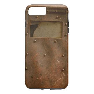 Rusty welding helmet iPhone 7 plus case