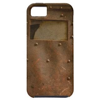Rusty welding helmet iPhone SE/5/5s case
