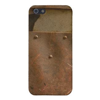 Rusty welding helmet iPhone SE/5/5s cover