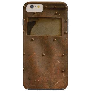 Rusty welding helmet tough iPhone 6 plus case
