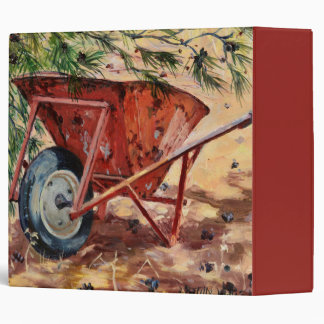 Rusty Wheelbarrow 2009 Binder