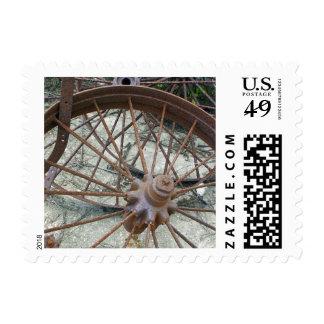 Rusty Wheels Postage