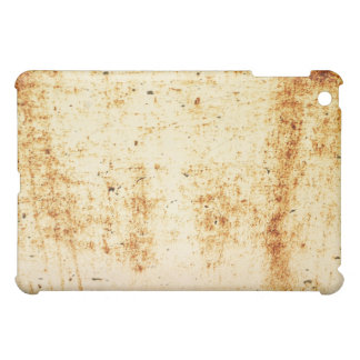 Rusty White Metal Texture iPad Case
