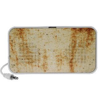 Rusty White Metal Texture Portable Music Speaker