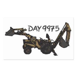 Rusty Workhorse Rectangular Sticker