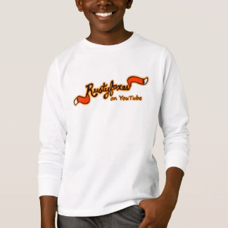 Rustyfoxes on Youtube Kid's Long-Sleeved Shirt
