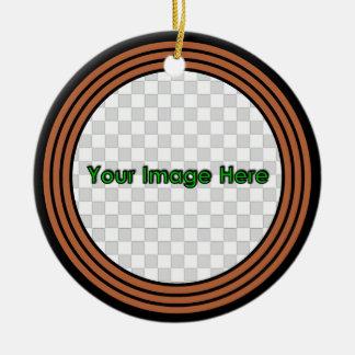 RustyRound 3 Keepsake Christmas Tree Ornament