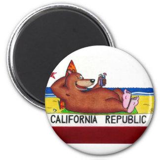 Rusty's California Bear Flag Magnet