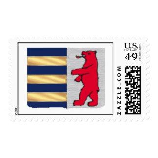 Rusyn Crest Stamp