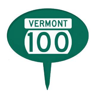 Ruta 100, Vermont, los E.E.U.U. Figura Para Tarta