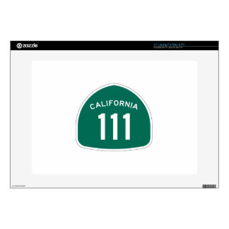 Ruta 111 del estado de California Calcomanía Para 38,1cm Portátil