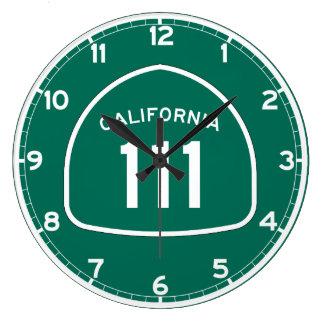 Ruta 111 del estado de California Reloj Redondo Grande