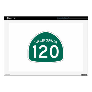 Ruta 120 del estado de California Portátil Calcomanía