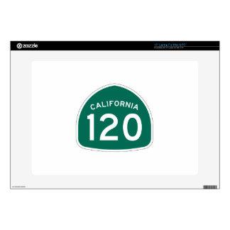 Ruta 120 del estado de California Portátil Skin